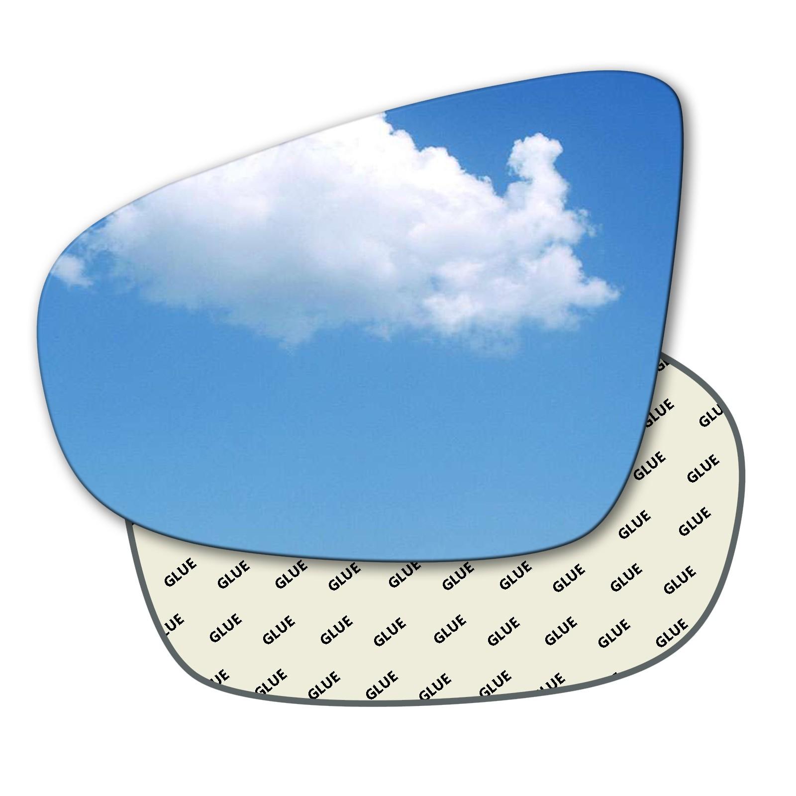 Hightecpl 127LS Left Hand Passenger Side Convex Door Wing Mirror Glass