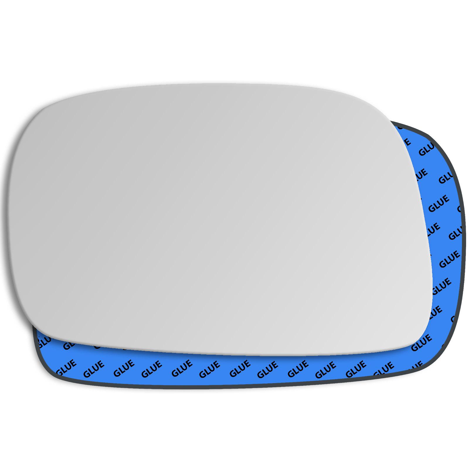 Vauxhall Agila Door Wing Mirror Replacement Glass Left Side 2000-2007