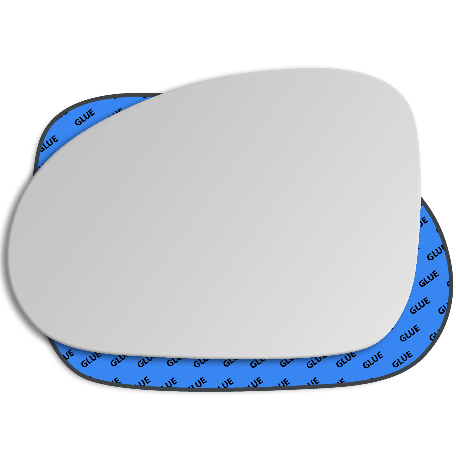 Hightecpl 412LAS Left Hand Passenger Near Side Wide Angle Door Wing Mirror Glass Replacement