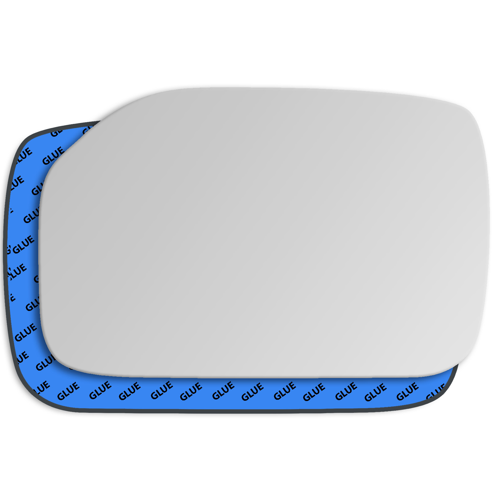 Hightecpl 94RS Right Driver Side Convex Door Wing Mirror Glass