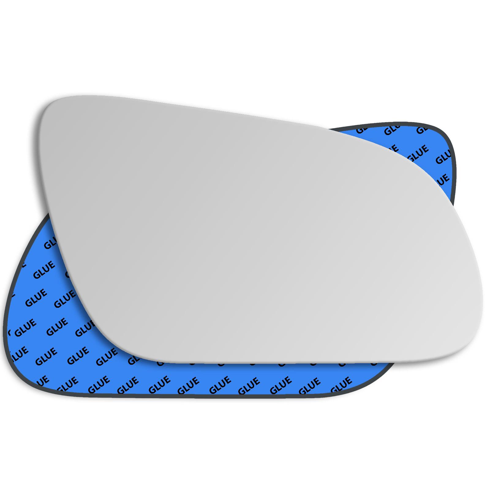 Left passenger near side convex wing mirror glass Audi A8 D3 2002-2007 257LS