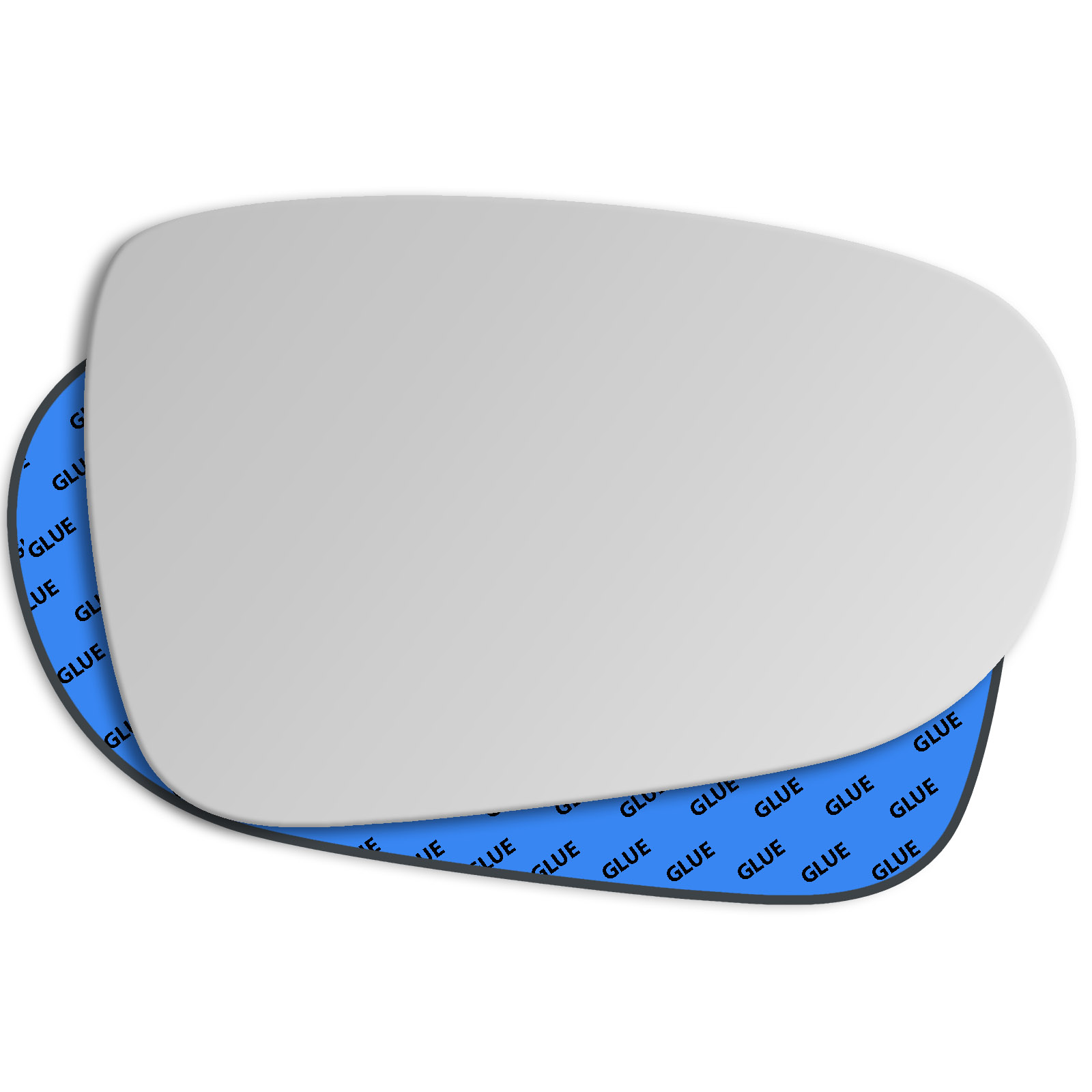 Hightecpl 1RS Right Driver Side Convex Door Wing Mirror Glass