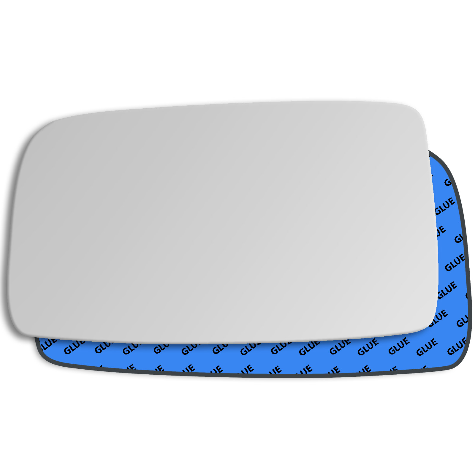 Hightecpl 548RS Right Driver Side Convex Door Wing Mirror Glass