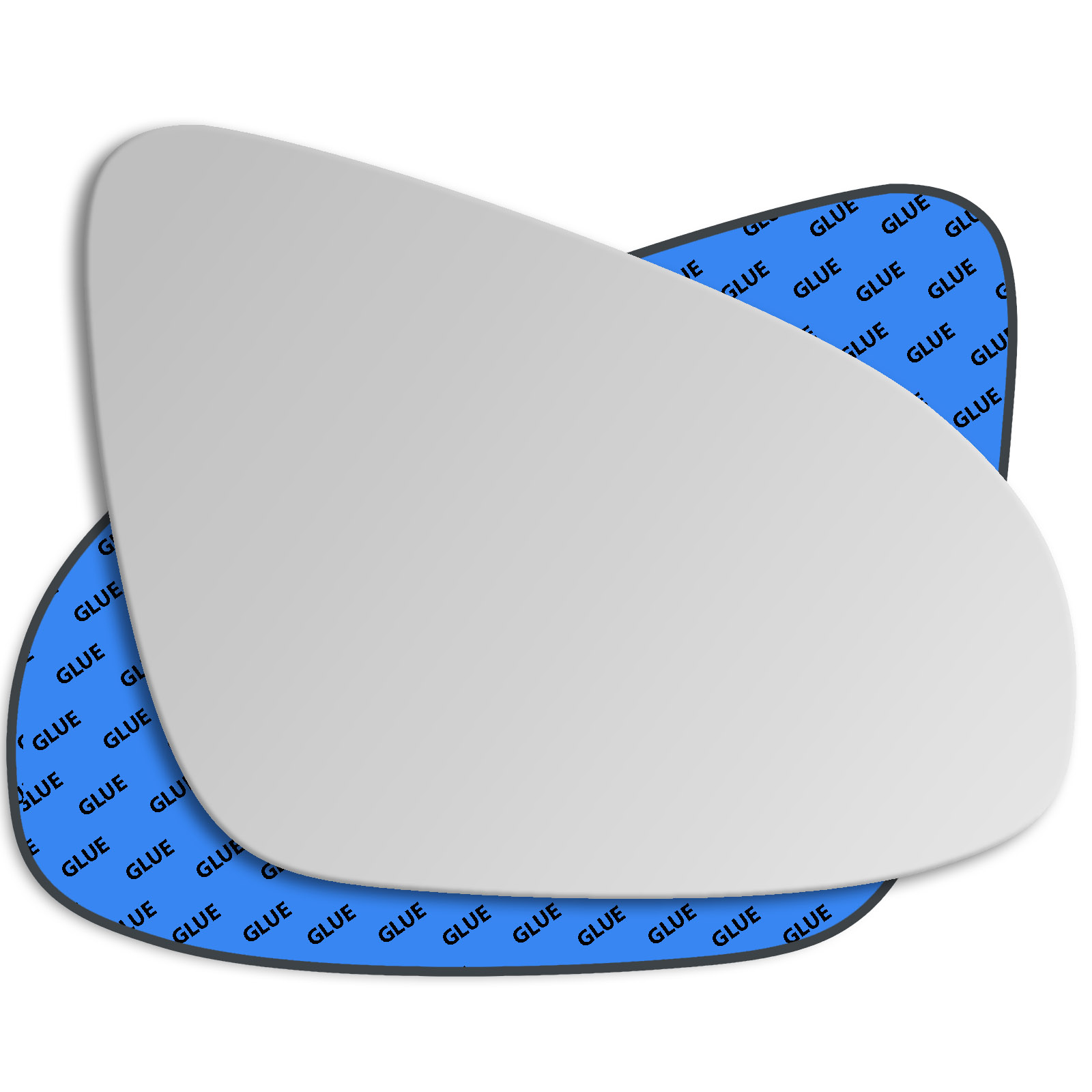 Hightecpl 402RS Right Driver Side Convex Door Wing Mirror Glass