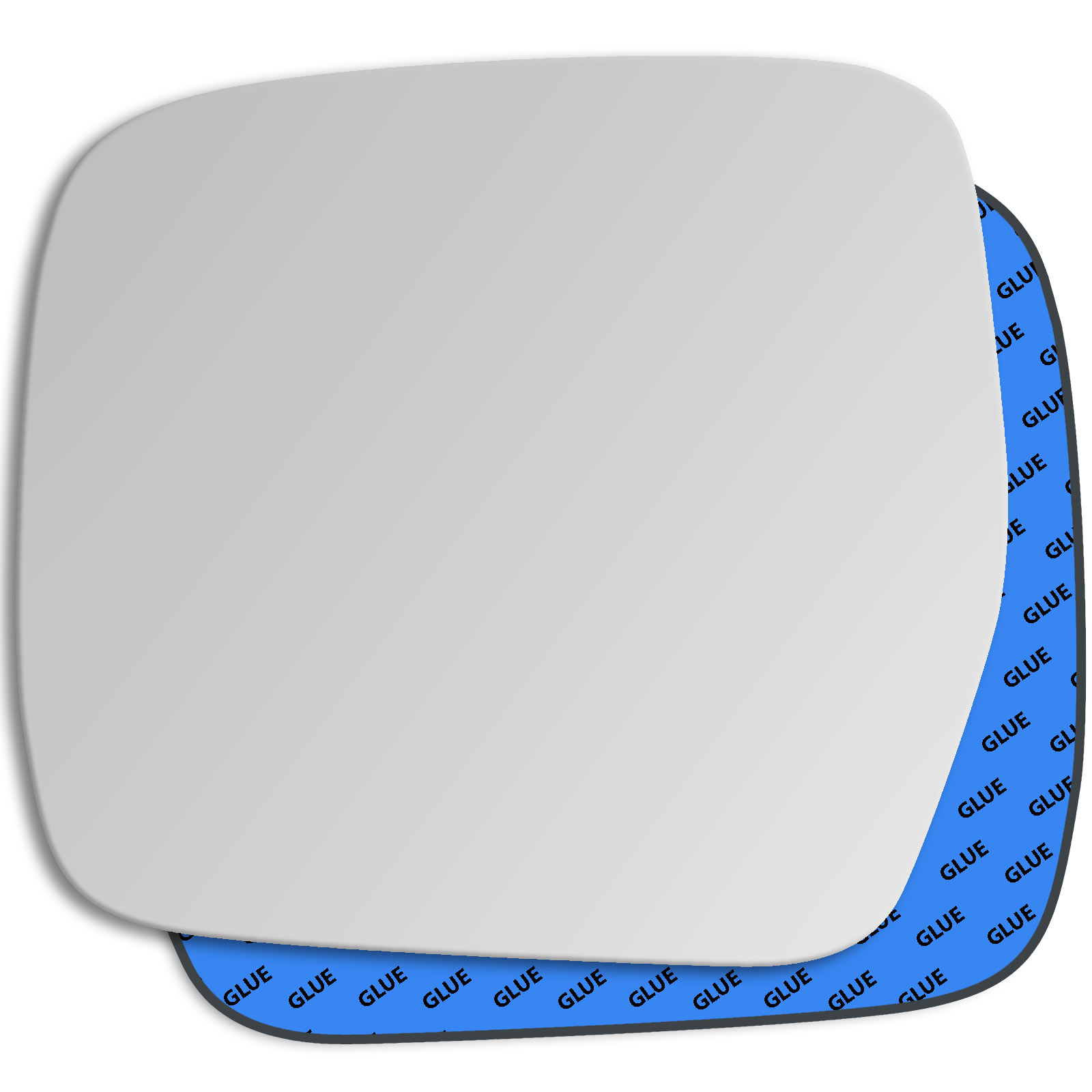 Hightecpl 78LAS Left Hand Passenger Near Side Wide Angle Door Wing Mirror Glass Replacement